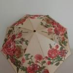 薔薇の折りたたみ傘