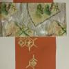 京都の付け下げと北尾の手織りの袋帯です。