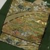 豪華な手刺繍丸帯と河村織物の逸品袋帯