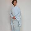 Y様の滝沢先生のおあつらえ色無地 「桜」