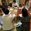 この土日、着付け説明会、半衿講習、上野のお花見とお食事、集中着付けと続きました。