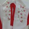 3歳児の祝い着の半衿