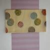 夏のおしゃれな袋帯と夏紅花紬ピンクCD