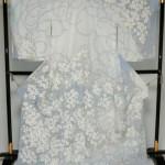 伝統工芸展入選作家藤原萌先生が描いた日本染織作家展入選作訪問着「エデン」