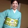 ライブのきもの 夏絽江戸小紋と名古屋帯