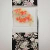 おしゃれ小紋と染め名古屋帯コーデ蘭、牡丹、桜