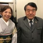 寺島実朗先生の「2018年の展望」の紬の訪問着