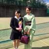 Eiko様お嬢様の高校の卒業式の付け下げと袋帯