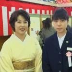 Miho様のお嬢様中学校のご卒業式