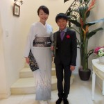 Eiko様のお子様の卒業・入学の訪問着