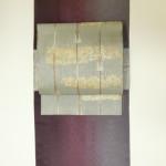 すぐに締められる作り袋帯と秋に最適桑蚕繭の小紋