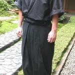 忍者や野武士にも!格好良く便利な野袴と作務衣