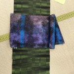 明日3日まで両国で開催の「米沢紬 織の彩展」にお越し下さい!