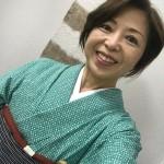 女子会の江戸小紋と紬の方が似合うかも?