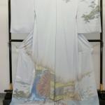 日本を代表する滝沢晃訪問着北斎水車など28日まで