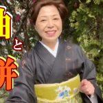 Youtube:紬と絣の違いとチャンネル登録のお願い