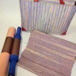 【時代の色と個性の色の調和】でご紹介した裂織(さきおり)バッグ