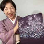 伝統工芸の高い技を3名の注文でお安く作る単衣・夏おあつらえ名古屋帯薄(すすき)