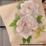 お正月に締めたい手刺繍名古屋帯本日18日18時までのお品です。