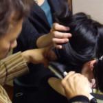 和髪講習とメイク講習が一日で体験できます!